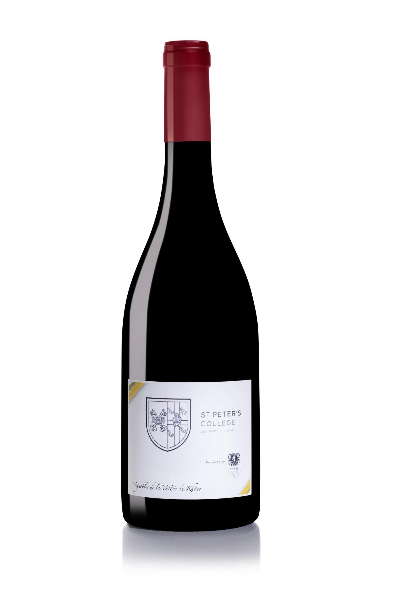 Wine bottle for edf