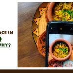 What is passive space in food Photography?